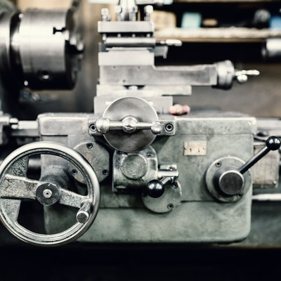 「汎用旋盤(横)」の写真素材