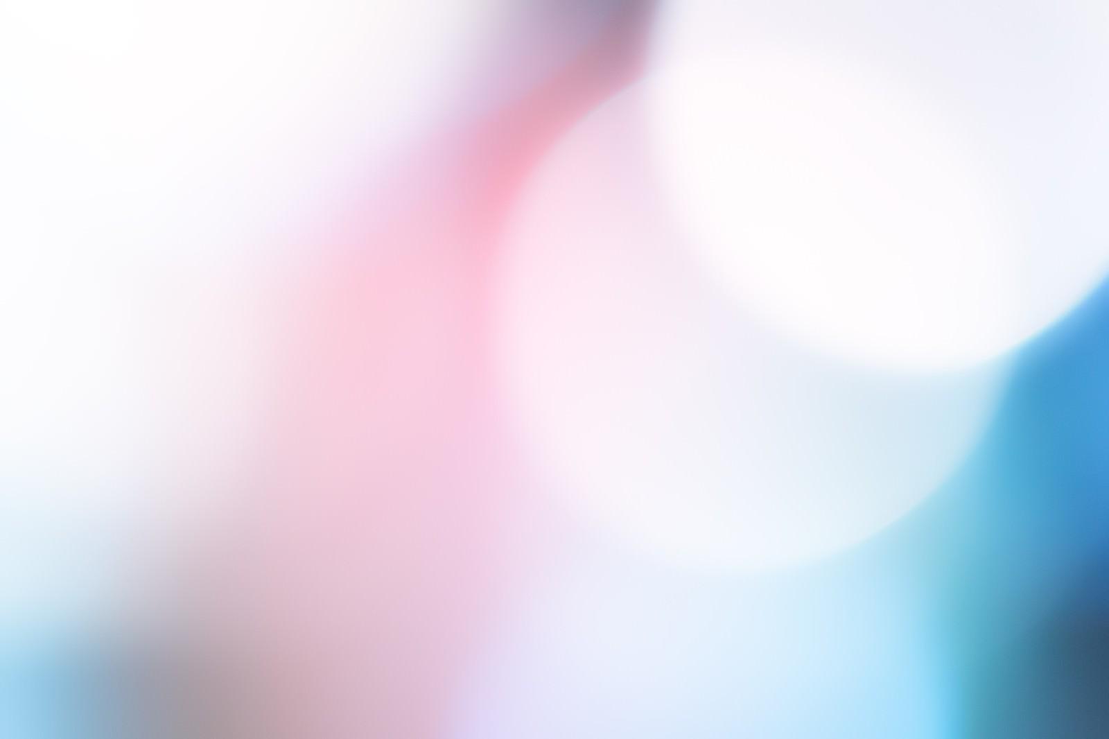 「青白い光」の写真
