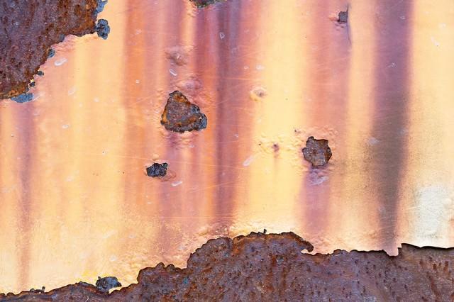 腐食した壁の写真