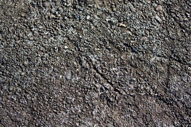 アスファルト地面(テクスチャ)の写真