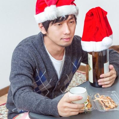 「独りきりのクリスマス・イヴ」の写真素材
