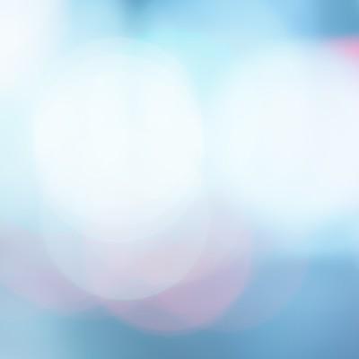 「冷たい光(ボケ)」の写真素材