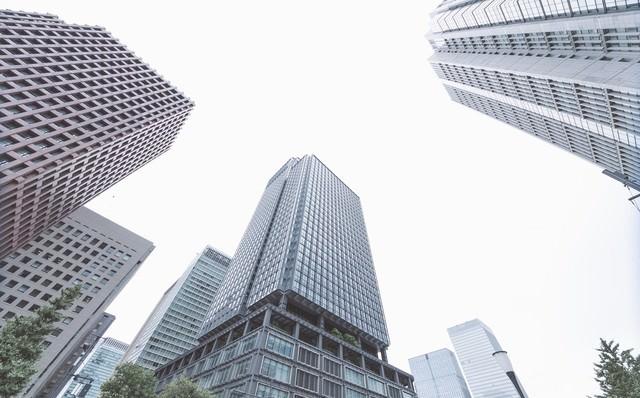 東京のビルの写真