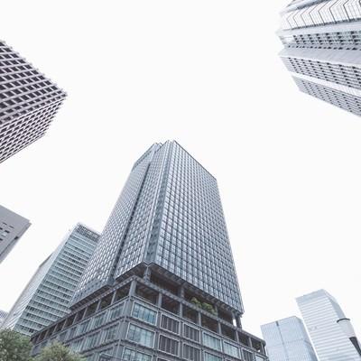 「東京のビル」の写真素材