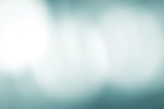 「冷たい光のボケ」のフリー写真素材