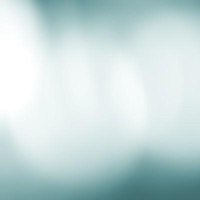 冷たい光のボケの写真