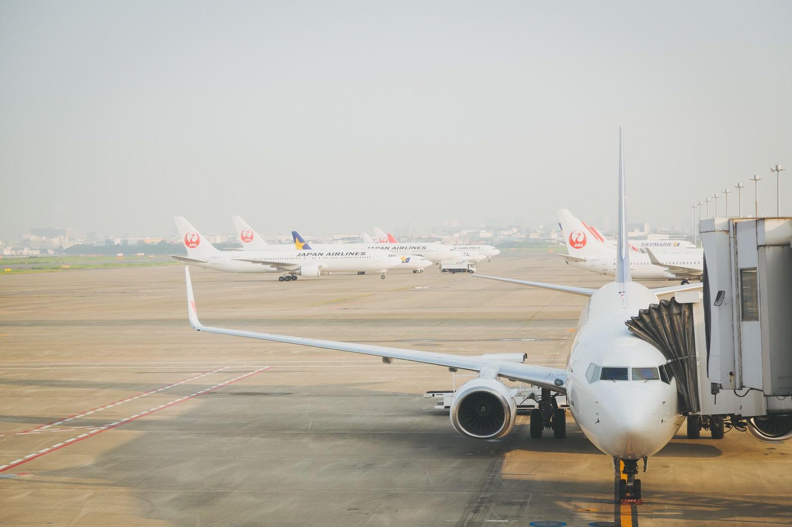 旅客機と空港