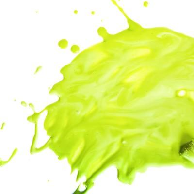 「豪快に塗料を飛び散らせる」の写真素材