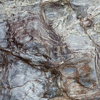 「ゴツゴツした岩肌のテクスチャー」の写真素材