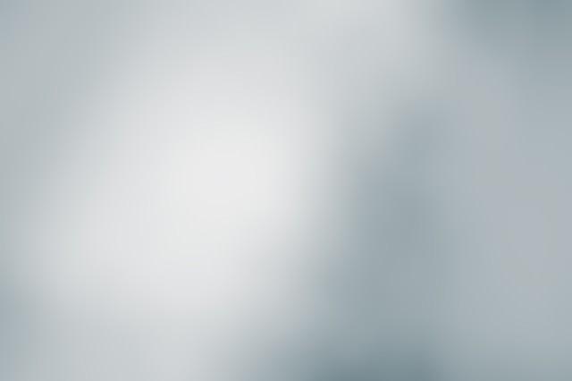 「灰色のボケ」のフリー写真素材