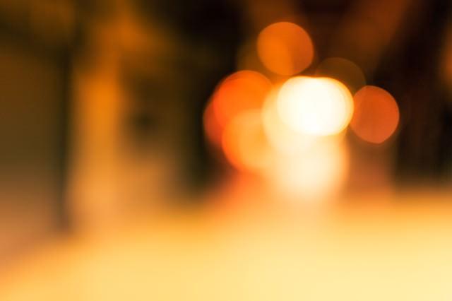 奥からの光の写真