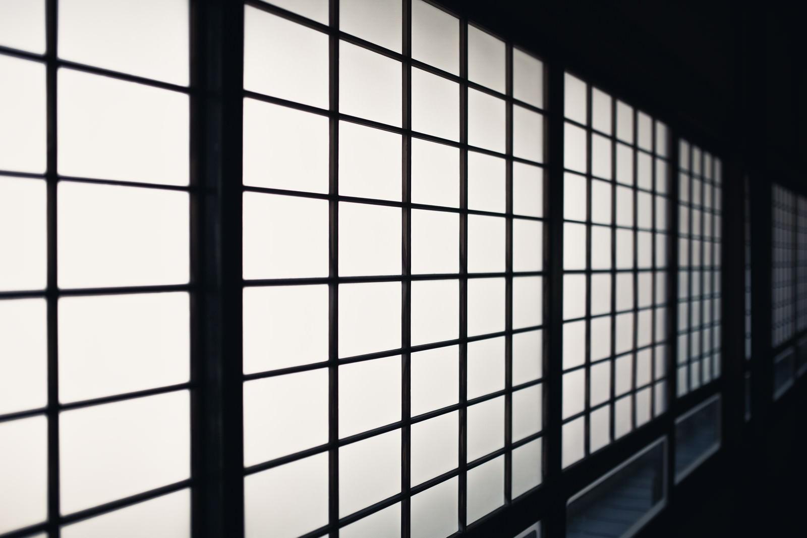 「和室の障子和室の障子」のフリー写真素材を拡大