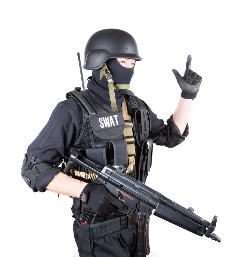 「ピストル(Pistol)のハンドサイン」の写真