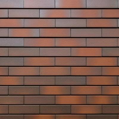 マンションのレンガ壁の写真