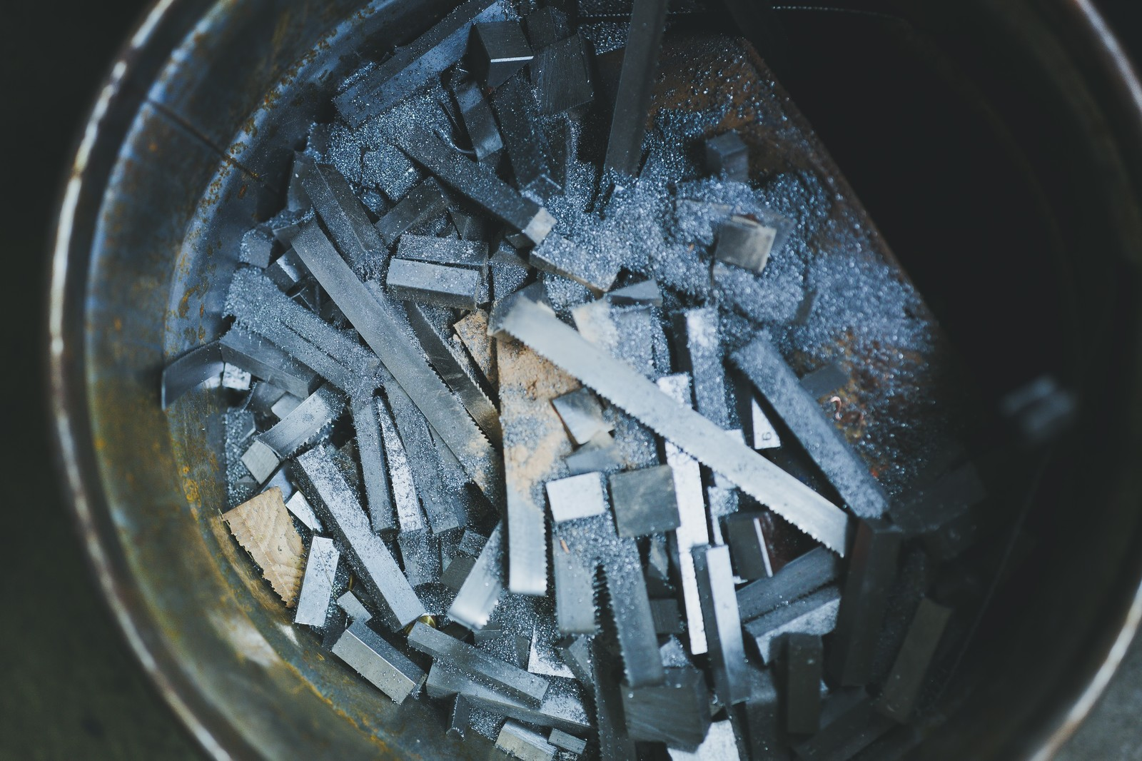 「鉄シャンクの廃棄物」の写真