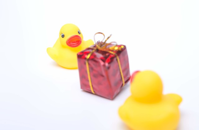 プレゼント交換の写真