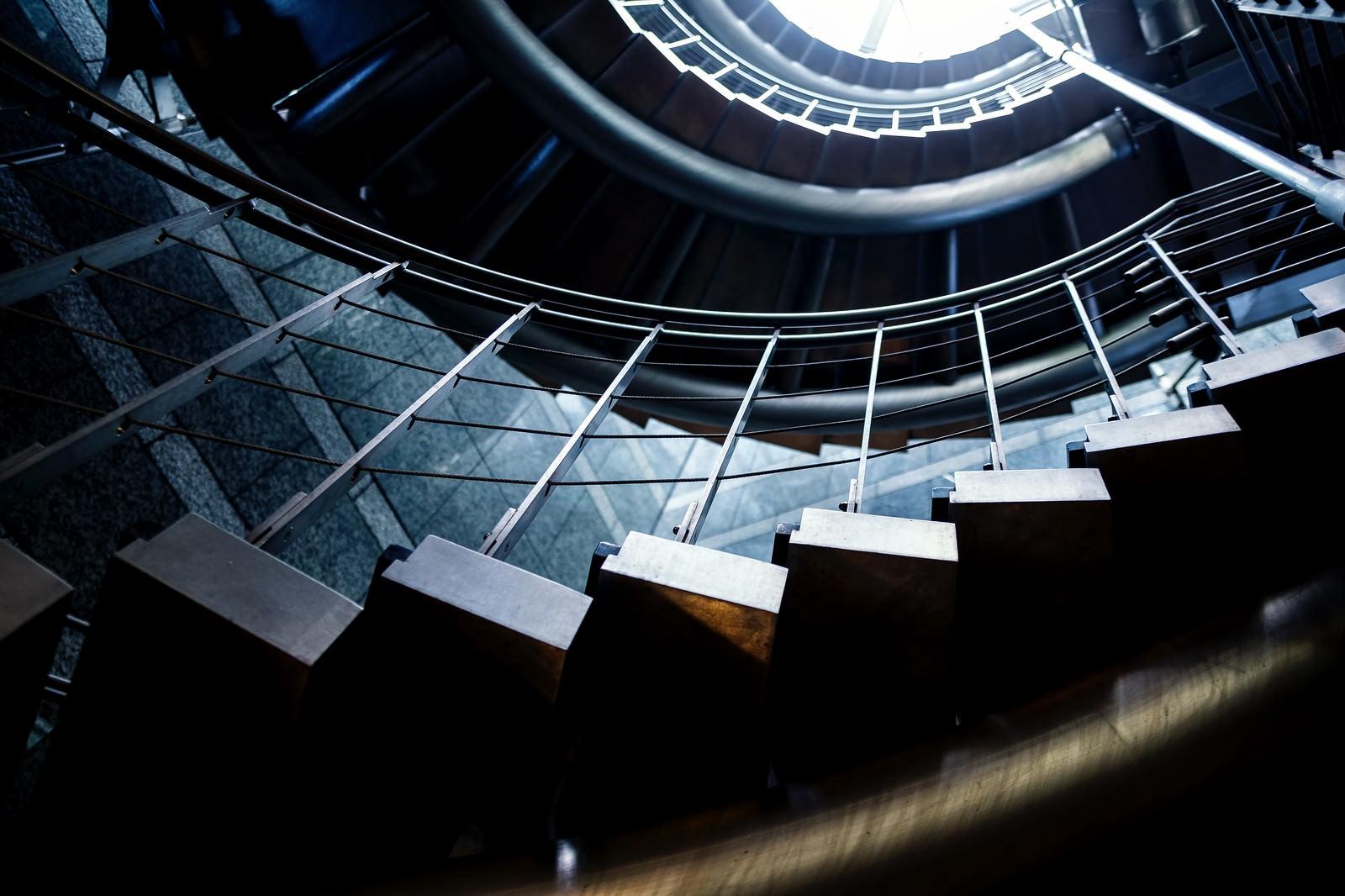 「螺旋階段」の写真