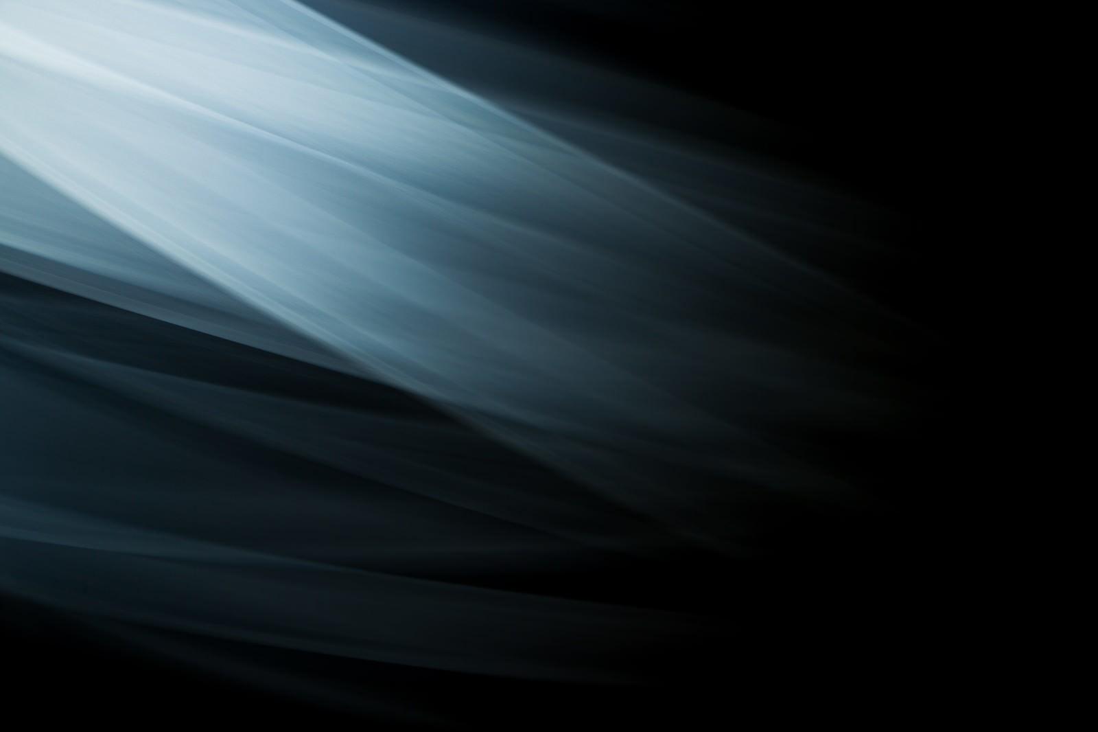 「流れる光の跡」の写真