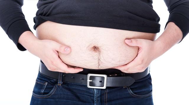 お腹の脂肪がなかなか落ちないの写真