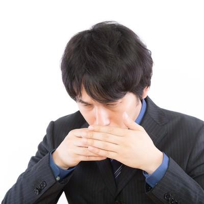 爪楊枝を使うときは左手を添えるの写真