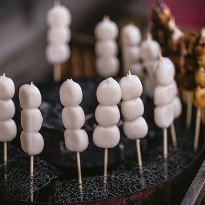 串団子の写真