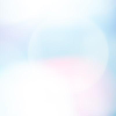 「青白い光のボケ」の写真素材