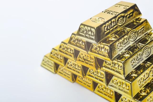 ピラミッドの金塊の写真
