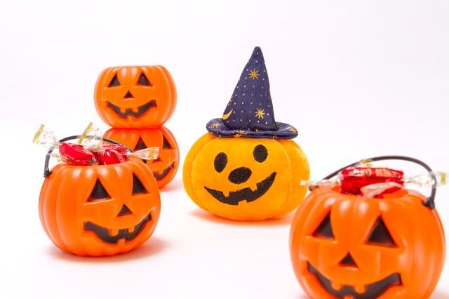 ハロウィンかぼちゃおばけの写真
