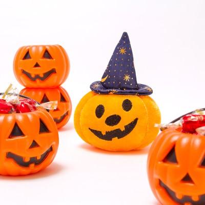 「ハロウィンかぼちゃおばけ」の写真素材