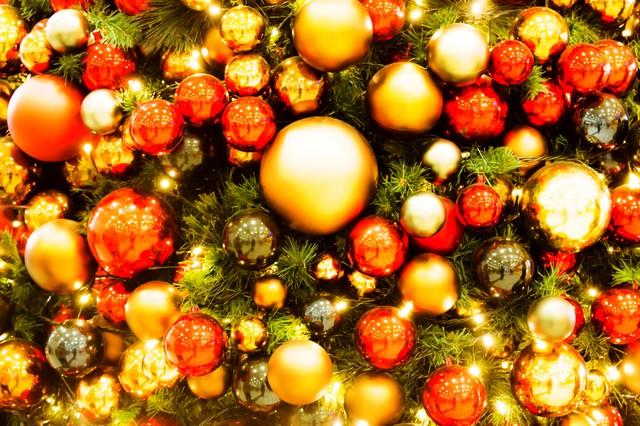 クリスマスの飾りの写真