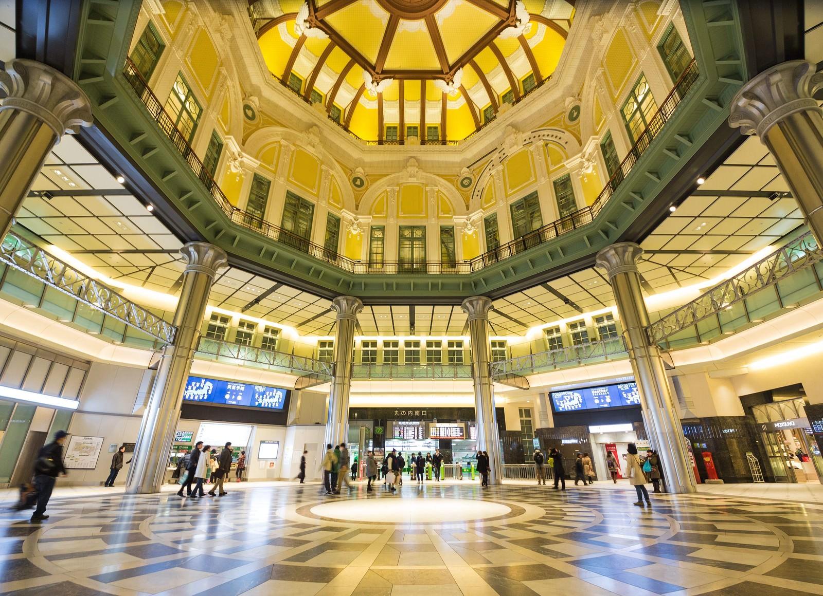 「東京駅丸の内南口」の写真