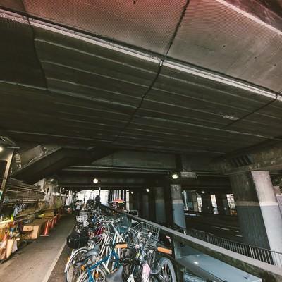 渋谷、玉川通りガード下の写真