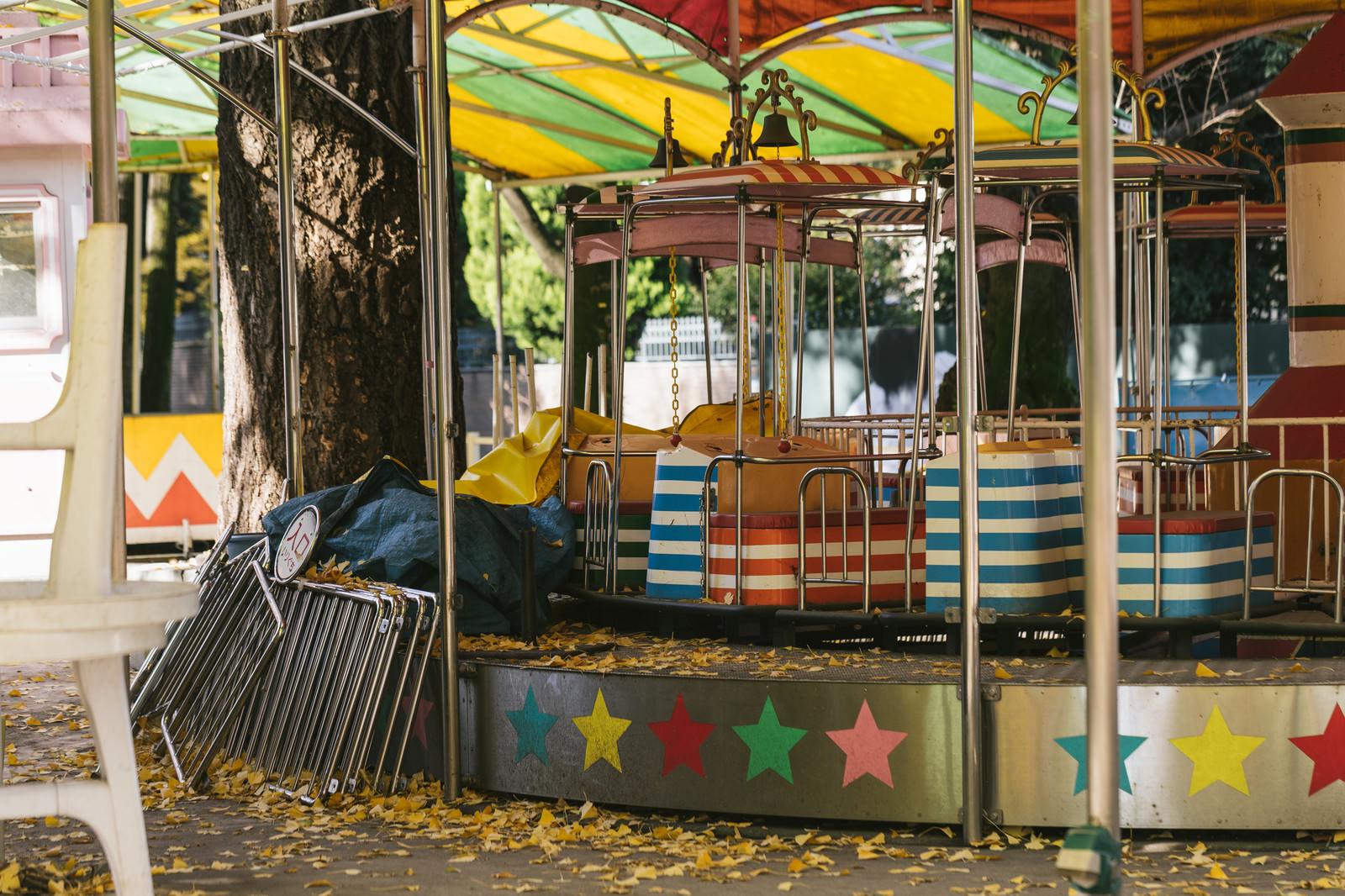 「消えゆく昭和、上野こども遊園地消えゆく昭和、上野こども遊園地」のフリー写真素材を拡大