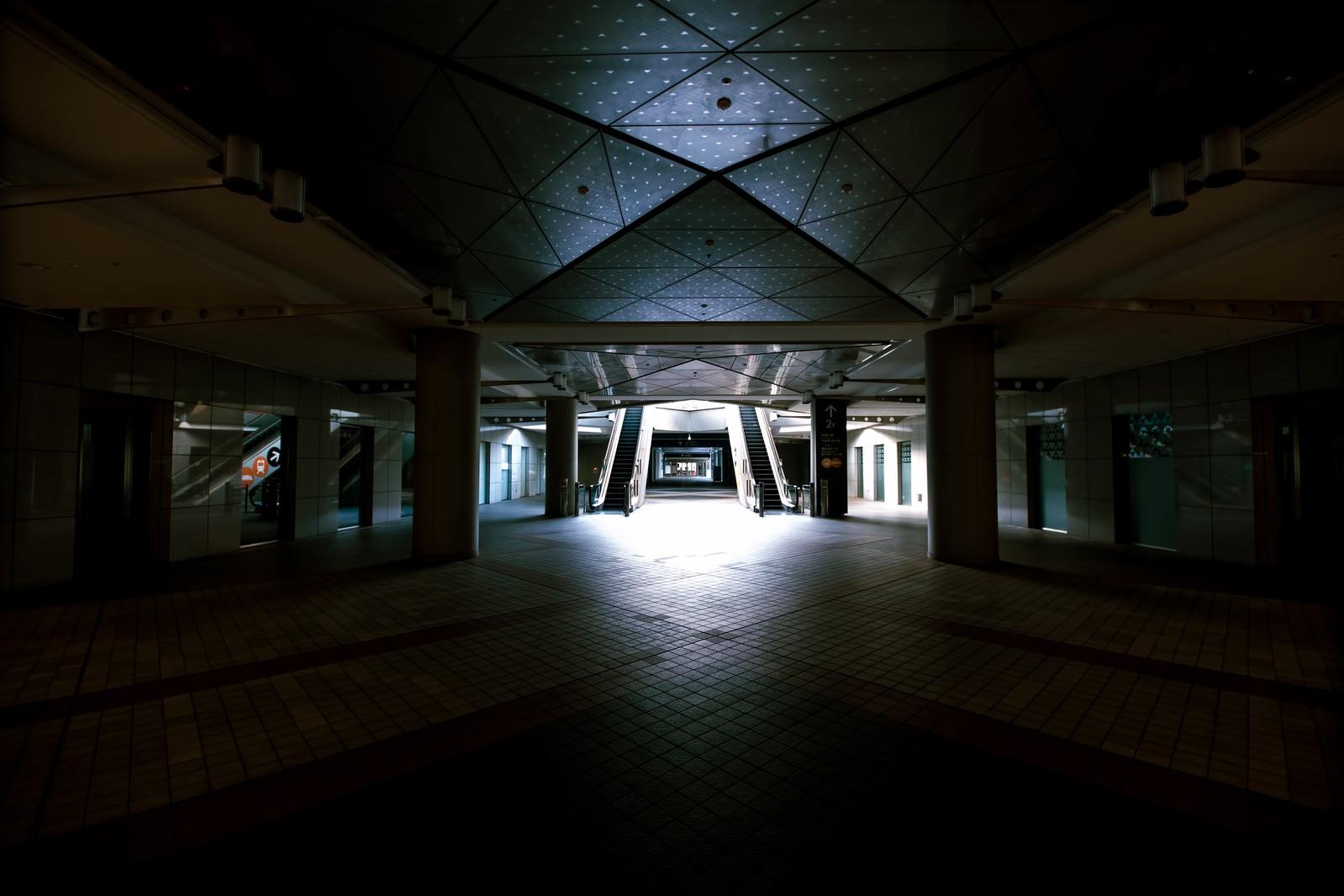 「東京ビッグサイト1F入口」の写真