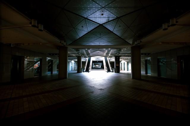 東京ビッグサイト1F入口の写真