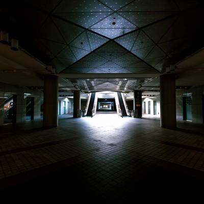 「東京ビッグサイト1F入口」の写真素材