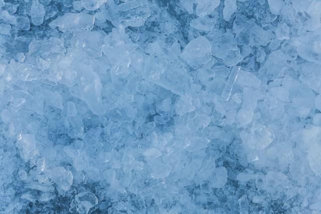 氷の結晶(テクスチャー)の写真