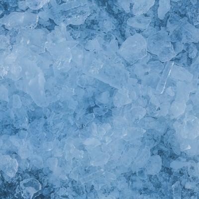 「氷の結晶(テクスチャー)」の写真素材
