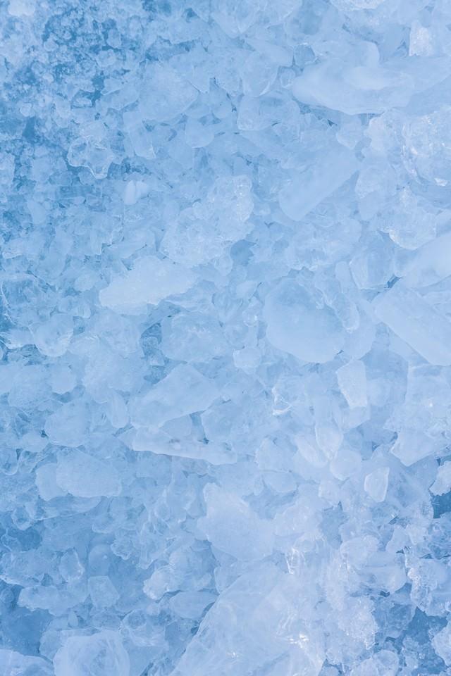 氷の結晶の写真
