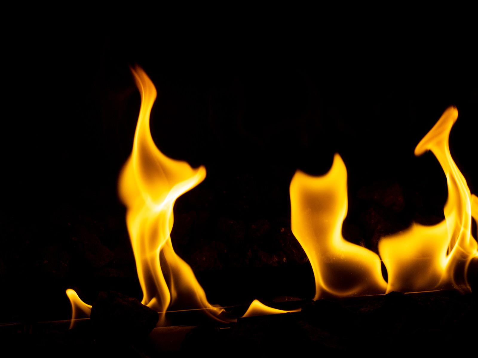 「小さな火がメラメラ」の写真
