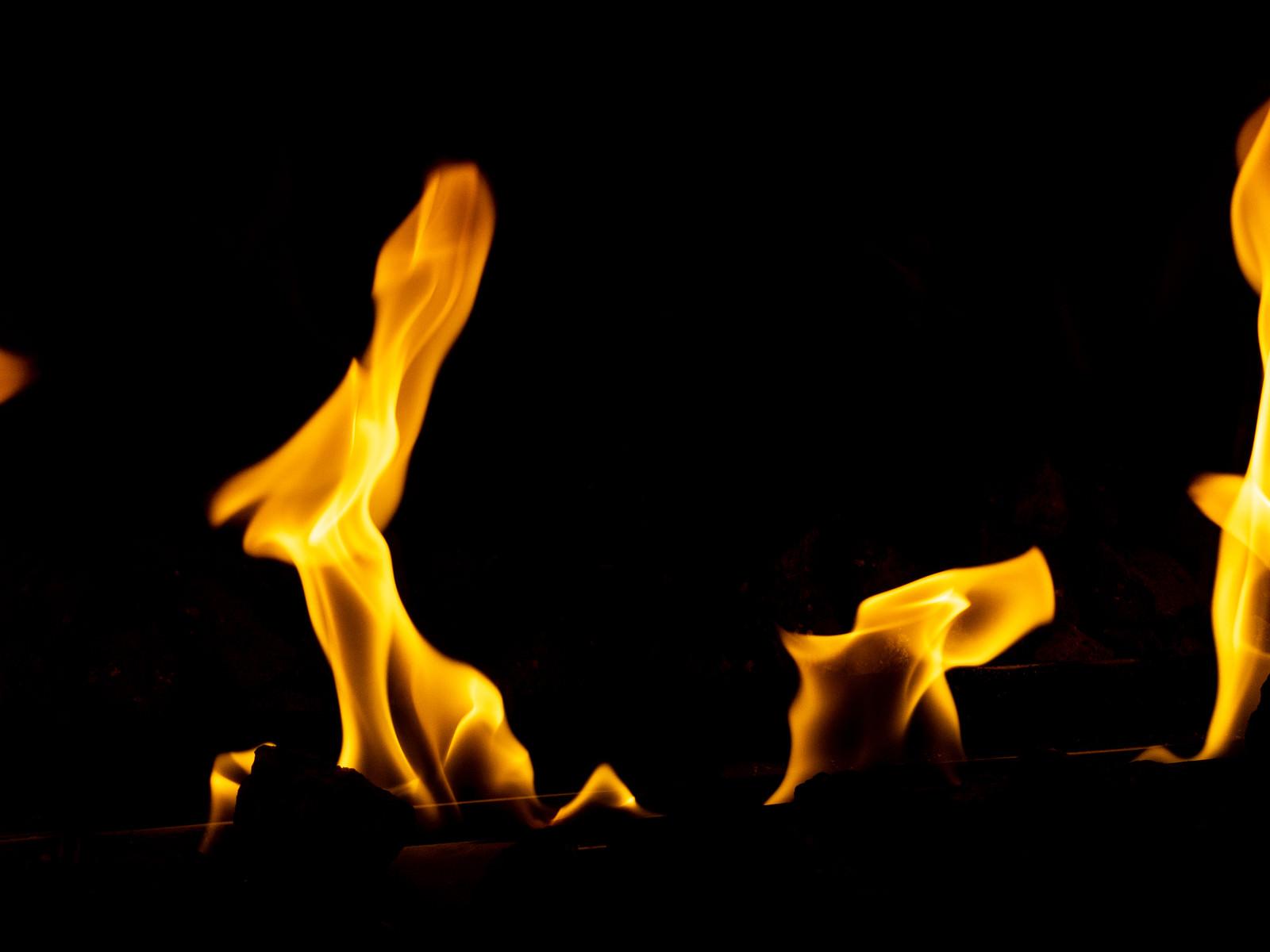 「燃えてあったか」の写真