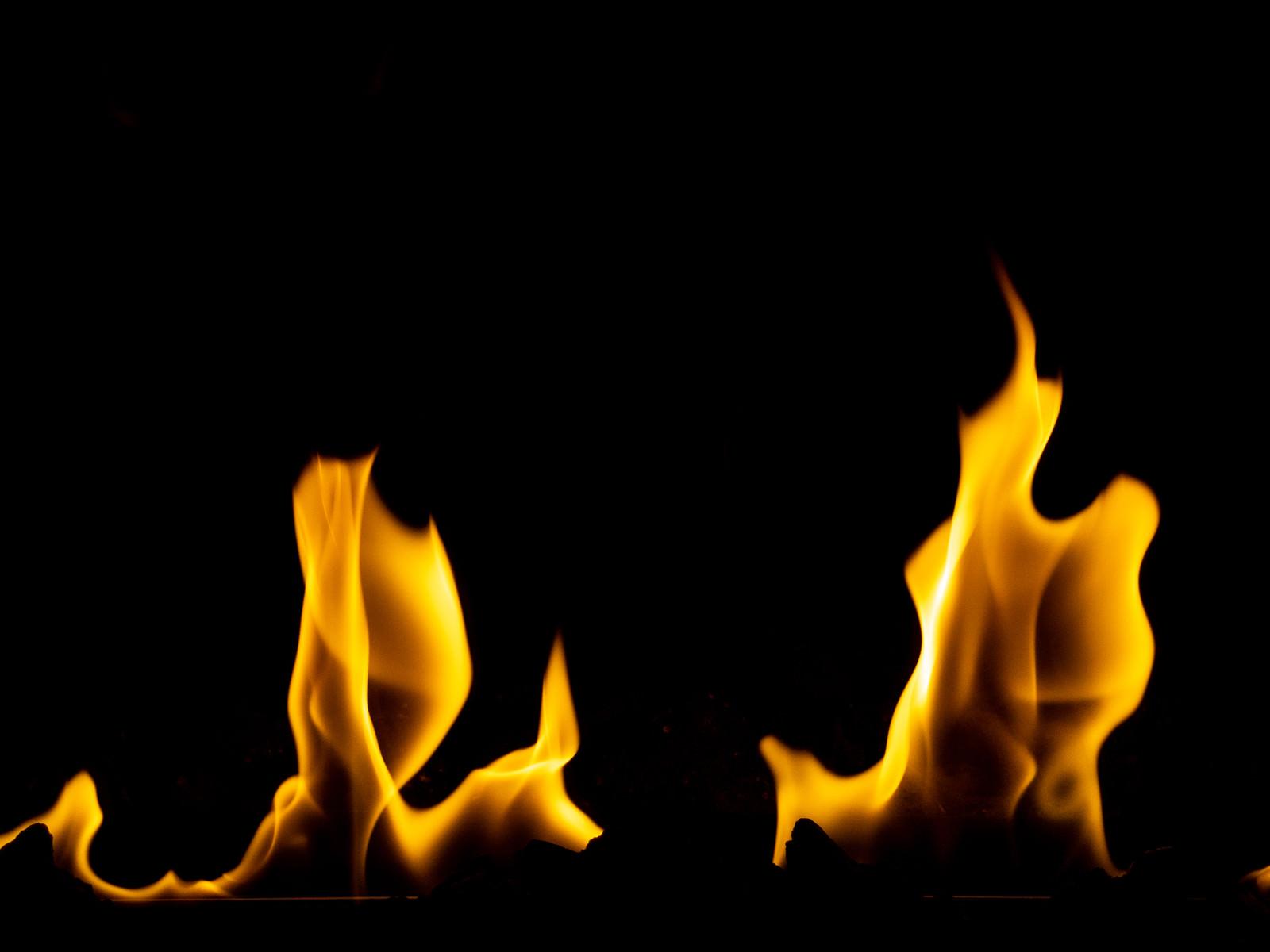 「炎の揺らぎ」の写真