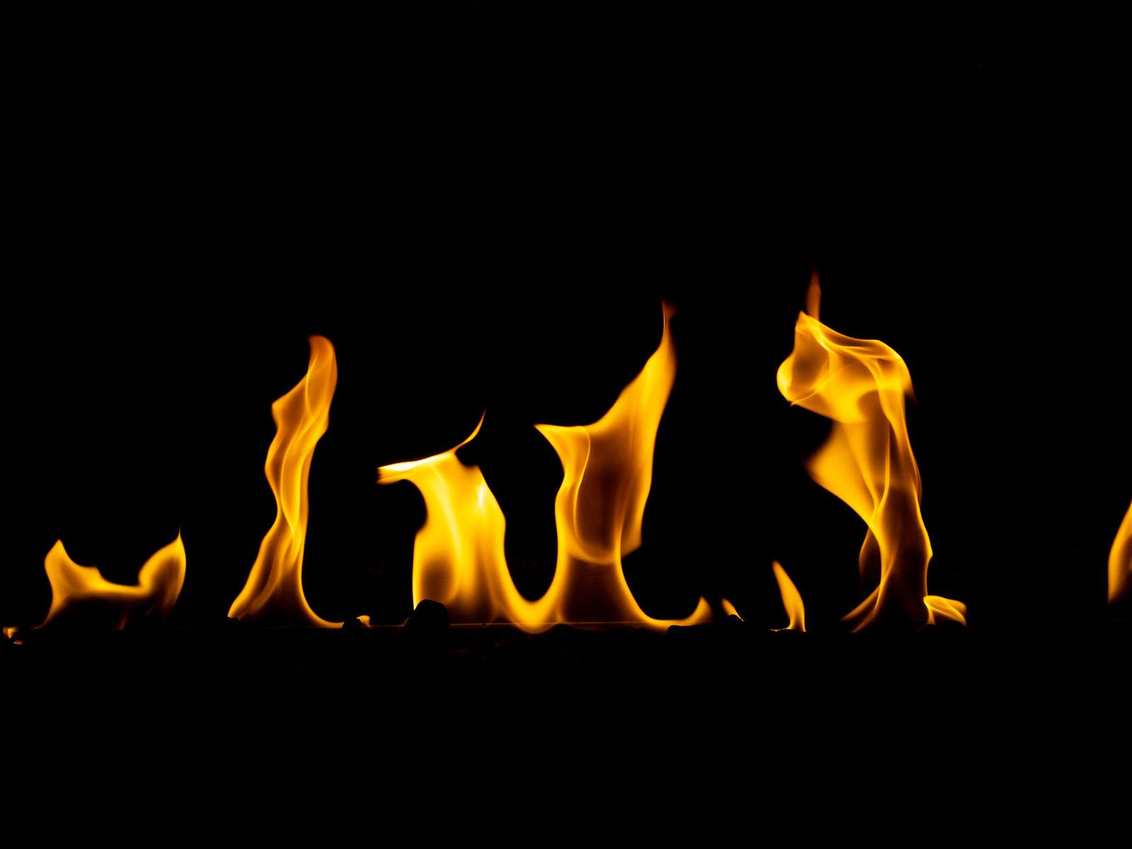 「炎の演出」の写真