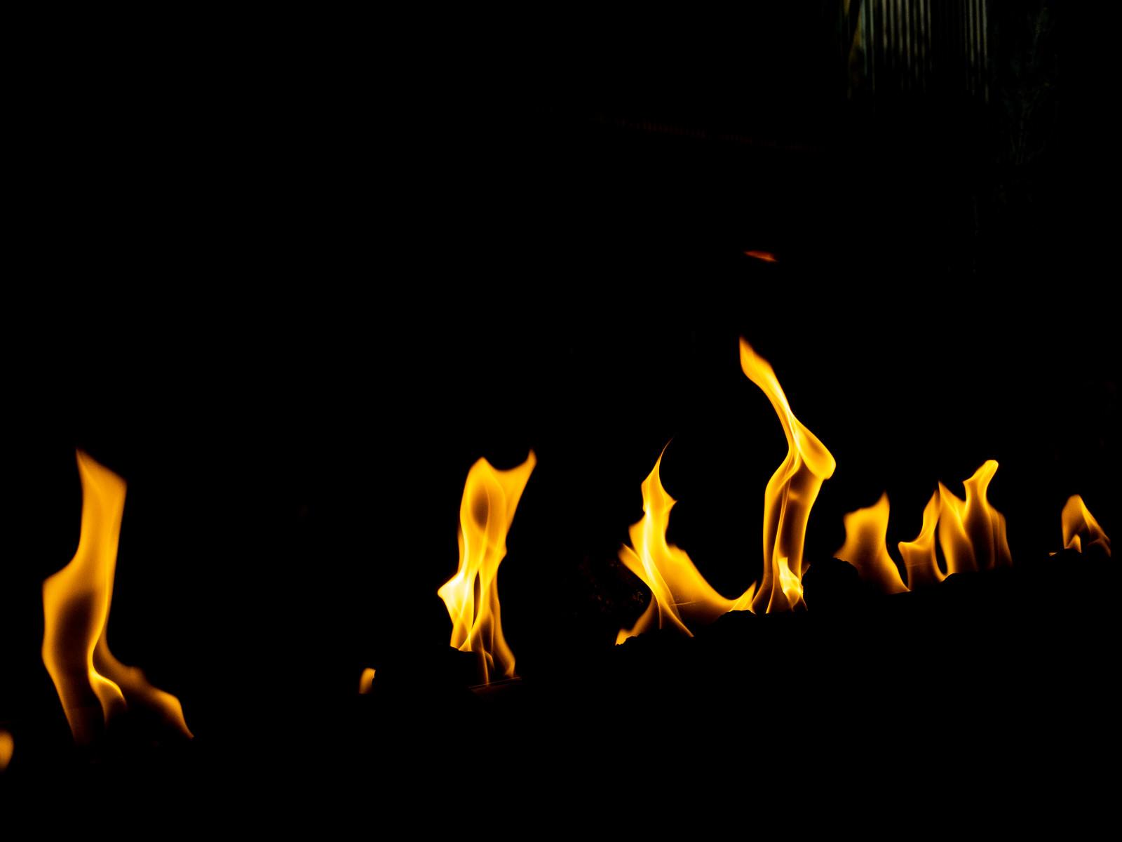 「炎火の炎」の写真
