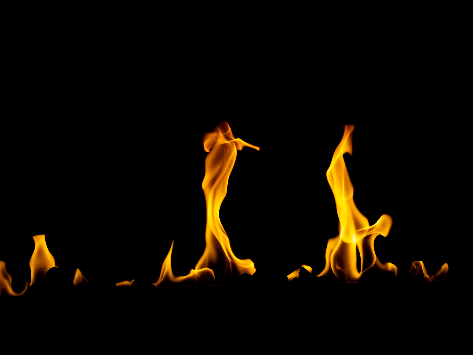 「炎があがる」の写真