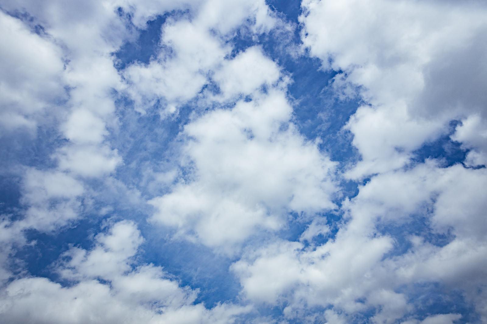 「ひつじ雲」の写真