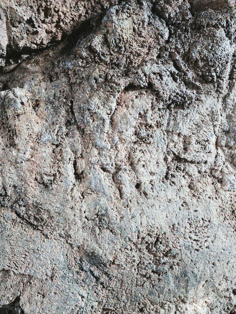 「岩肌のテクスチャー」の写真