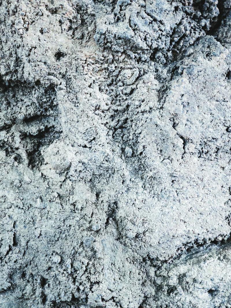 「コンクリートの凸凹(テクスチャ)」の写真