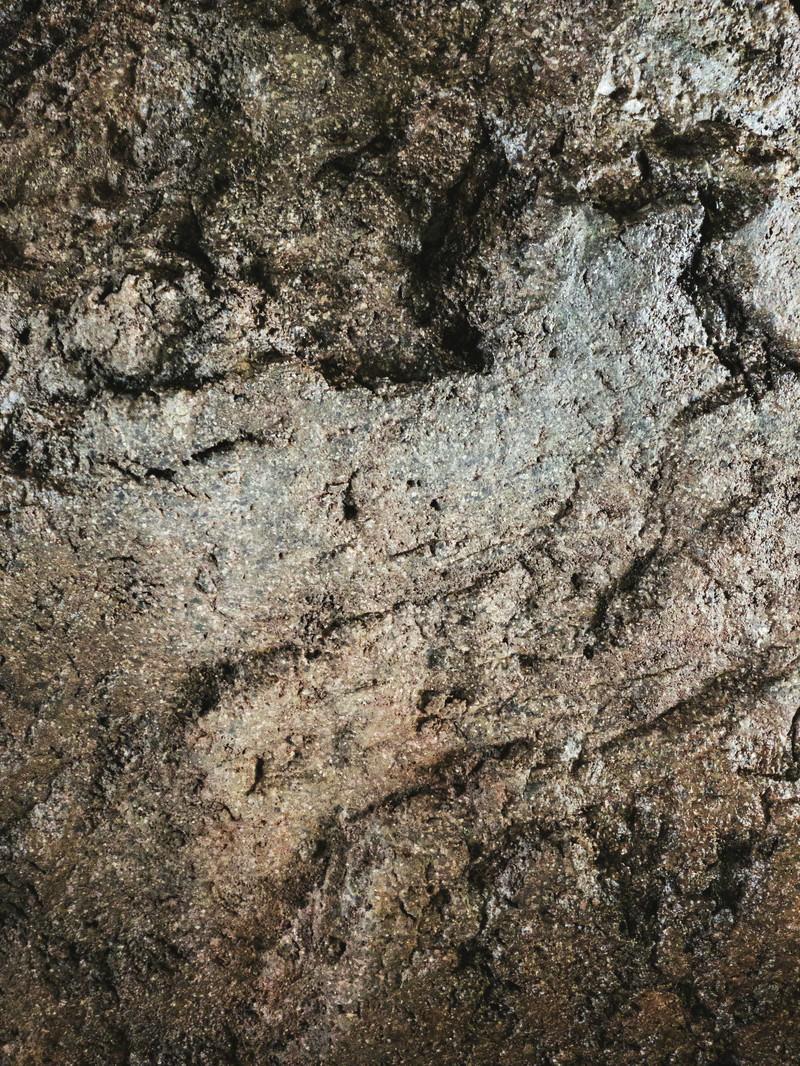 「グラデーションの岩肌(テクスチャ)」の写真