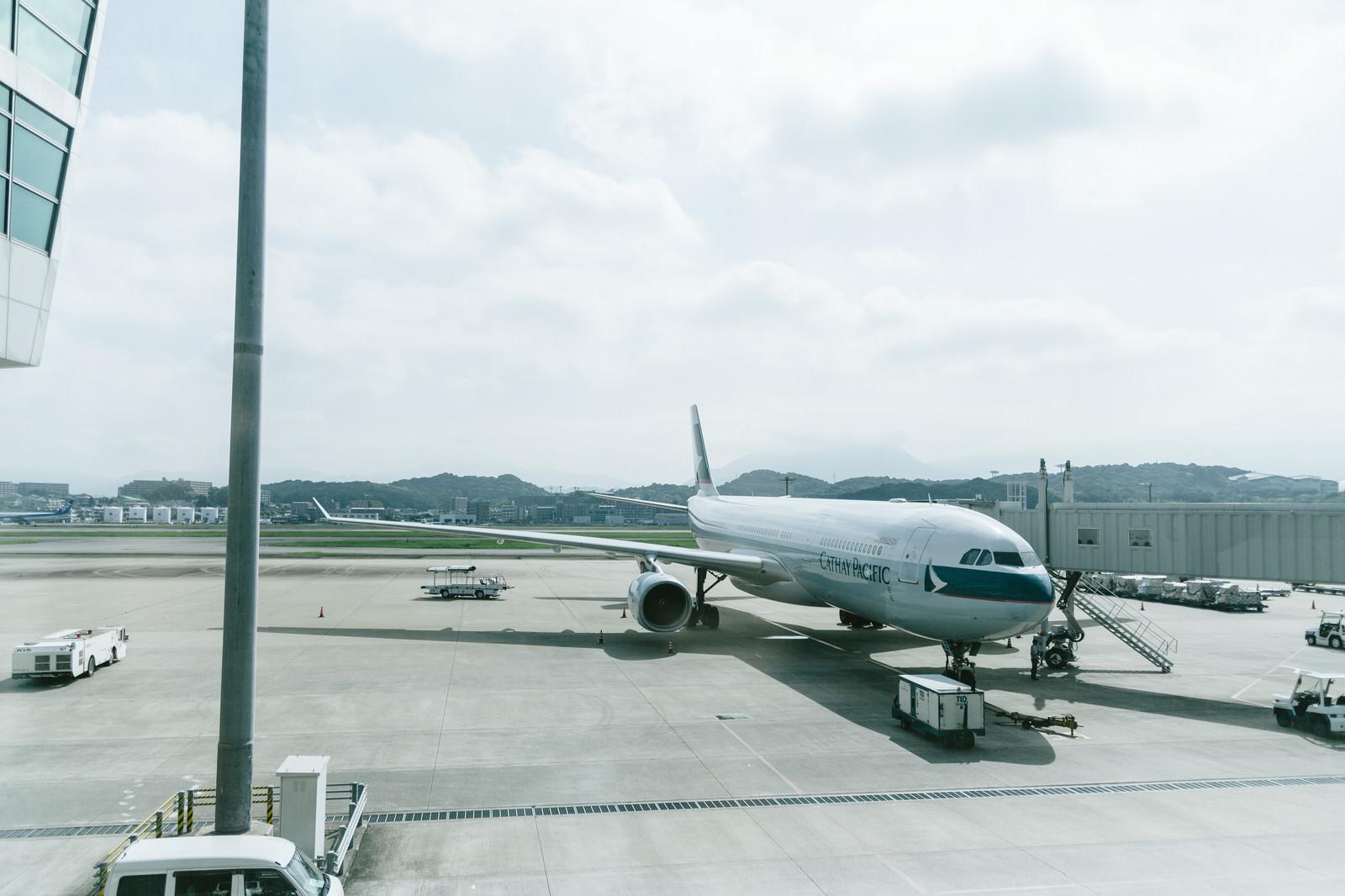 「空港と旅客機空港と旅客機」のフリー写真素材
